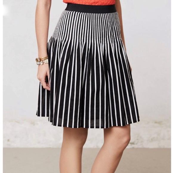 Anthropologie Dresses & Skirts - Anthropologie Maeve High Waisted Striped Skirt